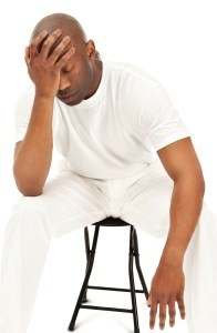 black men with anxiety